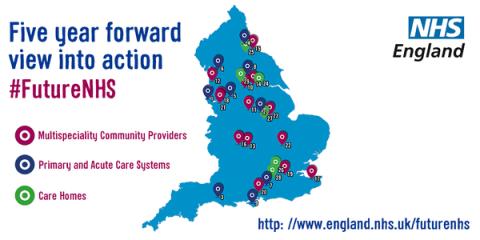 NHS England's 5 year plan. Image: @NHSEngland