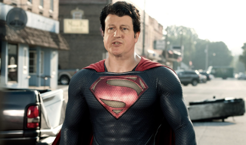 David Cameron as Superman Image: Tumblr