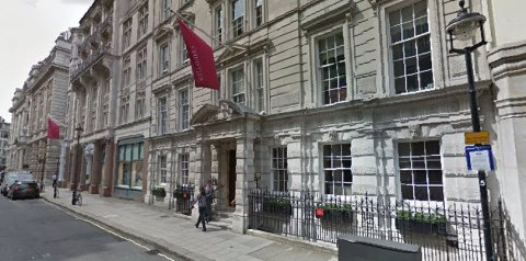 Christie's famous auction house in King Street St James's. Image: Google Street View