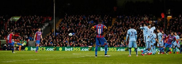 Crystal Palace defeat Man City at Selhurst Park 2-1. Image@CPFC