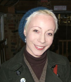 Picture of Esther Sutton from http://croydon.greenparty.org.uk/