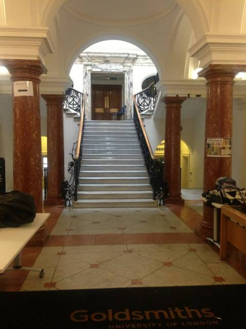 Goldsmiths occupying students say they have left Deptford Old Town Hall management building as they found it. Image: Occupy Goldsmiths