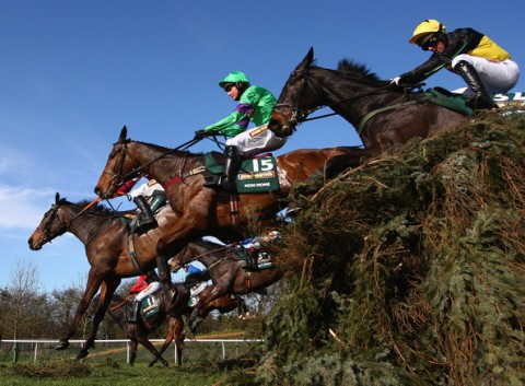 Breaking records: Today's Grand National on track to be the most well backed in history. Image: www.grand-national.co.uk