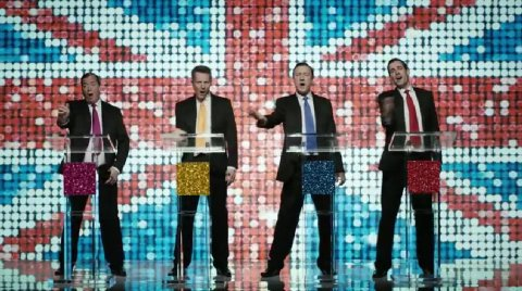 The Green Party's satire on the four boy band of Tory, Labour, LibDem and UKIP leaders reached 1 million views on YouTube
