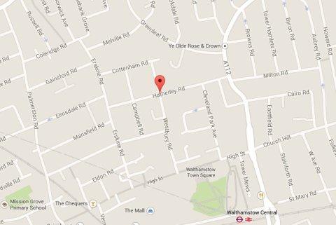 Hatherley Road, Walthamstow. Image: Google Maps