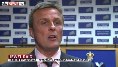 Head of Flying Squad DS Turner. Image: Sky News- pooled interview