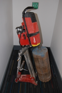 Hilti DD350 drill