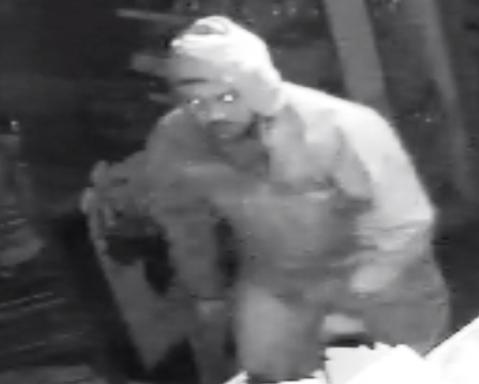 Burglary suspect A in Dagenham shop raid. Image: Met Police