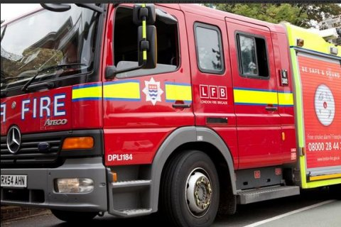 The London Fire Brigade. Appliance. Image: @LondonFire