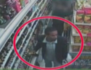 CCTV image of Errol in a shop before his killing in Leyton in 2010. Image: Met Police