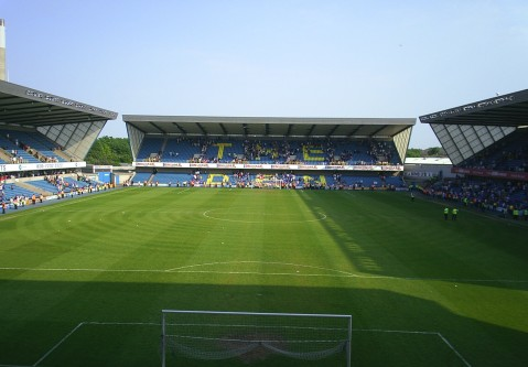 Millwall's home ground 'The Den'. Image: Wiki Commons (Gloworm 44)