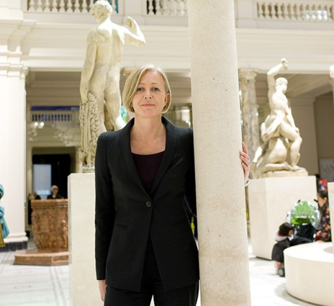 55 year old Moira Gemmill who died in a collision with a tipper lorry at Millbank roundabout Thursday 9th April. Image Graham Jepson & Victoria and Albert Museum.