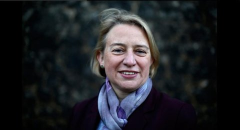 Natalie Bennett and the Green advocating a wealth distribution tax policy. Image: @TheGreenParty