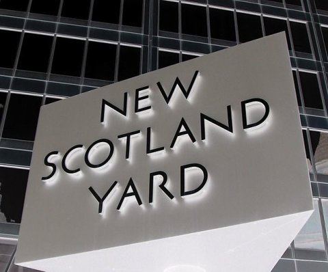New Scotland Yard. Headquarters of Metropolitan Police.