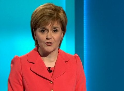 Scottish National Party leader Nicola Sturgeon- comes out top in the poll of polls following political leaders' debate. Image: ITV