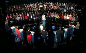 ITV Political Leaders' Debate. Image: ITV