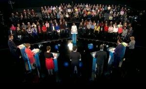 ITV Political Leaders' Debate. Image: ITV