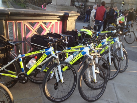 Evidence of a Police Cycle Safety Team