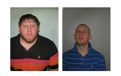 Rocky Goldsmith, 36, and Joe Tomlinson, 30.