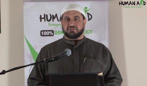 Sheikh Abdul-Hadi Arwani. Image: HumanAidUK https://www.youtube.com/watch?t=26&v=Vn5mr-k87EE