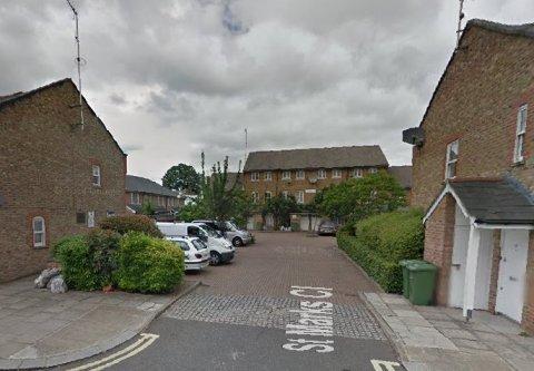 St Marks Close, Fulham. Image: Google Street View