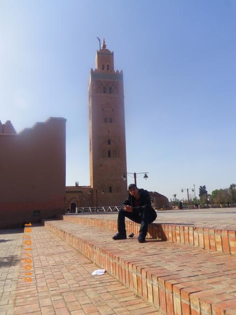 Kazi Islam abroad. Image: Met Police