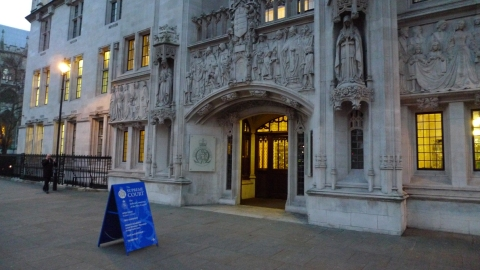 UK Supreme Court. Image: LondonMMNews