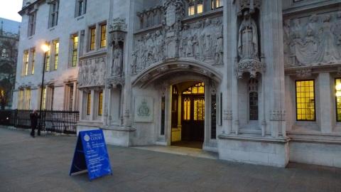 UK Supreme Court. Image: LondonMMNews