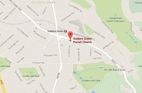 West Heath Drive, Golders Green. Image: Google Maps