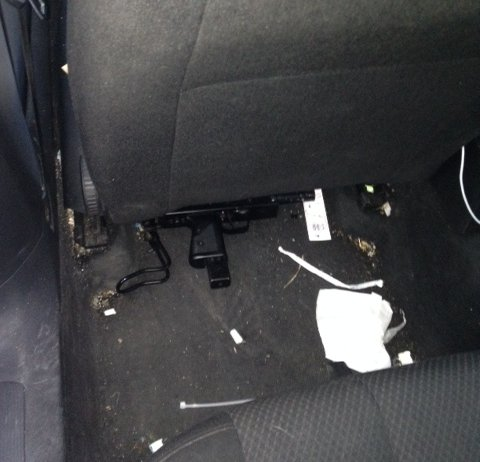 Uzi submachine gun seized by the Met Police from a vehicle in Greenford. Image: Met Police