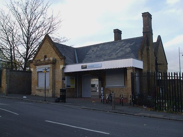 "Plumstead station building"" by Sunil060902 - Own work. Licensed under CC BY-SA 3.0 via Wikimedia Commons."