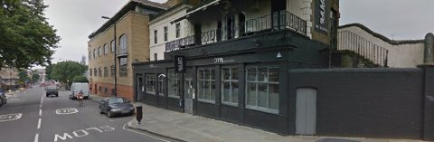 Canal Bar, Caledonian Road. Image: Google Street View.