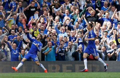 Chelsea- Champions of Premier League. Image: @ChelseaFC