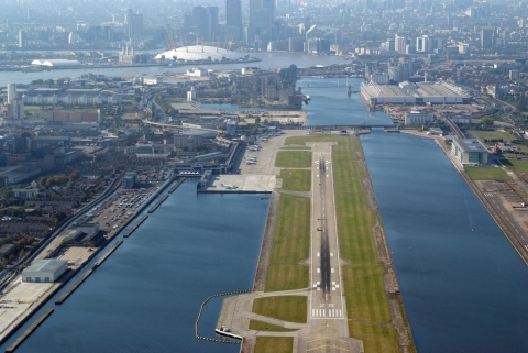 City Airport. Image: London City Airport.