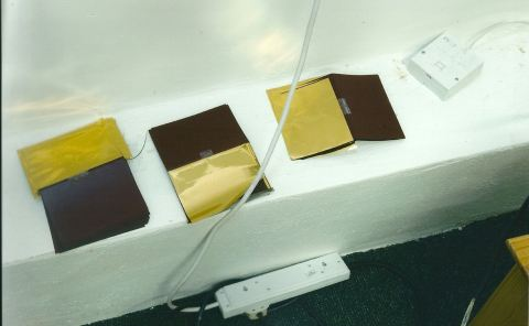 Gold leaf Passports. Image: Met Police