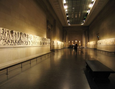 Elgin Marbles, British Museum.