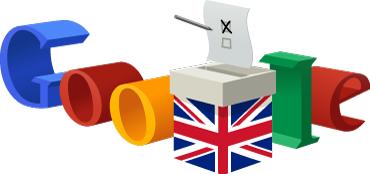 Google Doodle for 2015 General Election