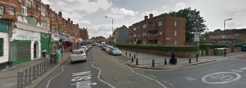 High Street, East Ham. Image: Google Street View.