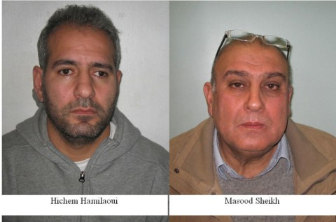 Two men sentenced for operating illegally as mini-cab drivers. Image: Met Police