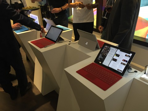 Microsoft Surface and Surface Pro 3