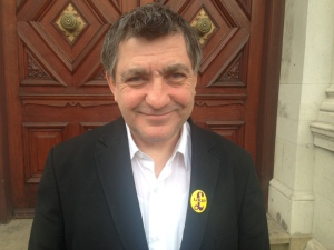 Croydon Central UKIP candidate - Peter Staveley. Image: Georgina Palzeaird