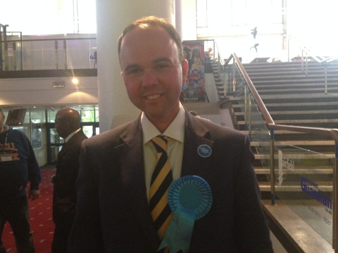 Gavin Barwell has been re-elected as MP for Croydon Central. Image: Georgina Palzeaird