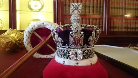 The Crown- a bejewelled symbol of constitutional monarchy. Image@Britishmonarchy