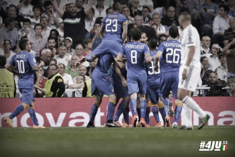 Juventus beat Real Madrid over two legs to reach Champions League final. Image: www.juventus.com