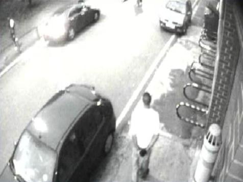 CCTV Still of Jeffery Okafor on night of the murder. Pic: Met Police