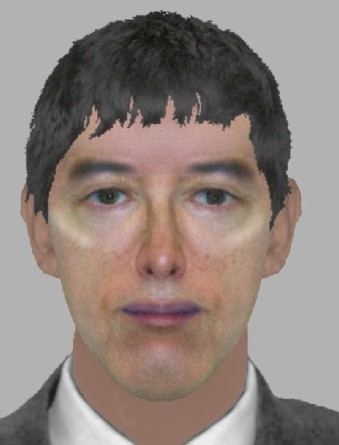 E-fit released by Met Police.