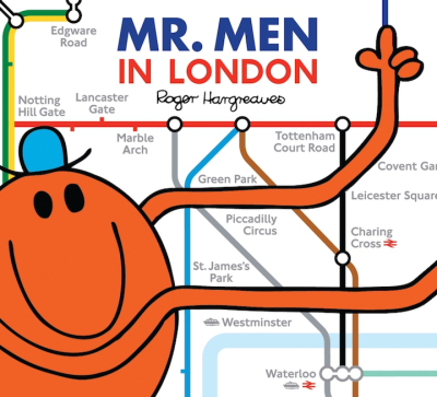 Mr. Men In London. Image: TFL