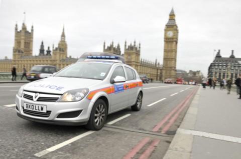 Police car on Westminster Bridge. Image: Met Police