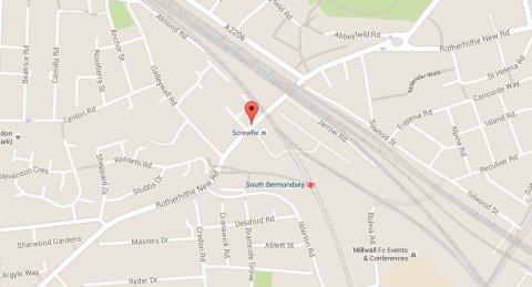 Rotherhithe New Road, Bermondsey. Image: Google Maps