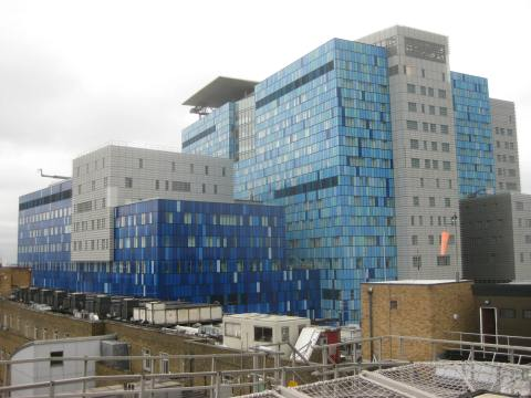 """Royal London Hospital redevelopment"" by Matt From London - http://www.flickr.com/photos/londonmatt/3572775139/. Licensed under CC BY 2.0 via Wikimedia Commons -"